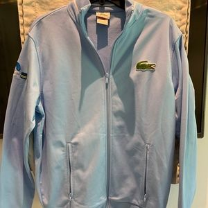 Light Blue Lacoste Sport Jacket
